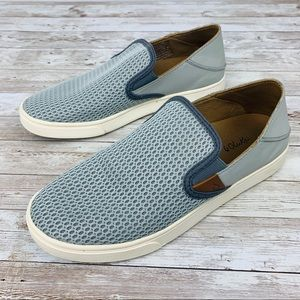 Olukai Pehuea slip on sneakers grey